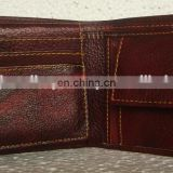 Mens genuine leather wallets exporter, gents leather money purse manufacturer