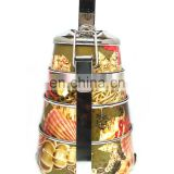 Premium Grade Stainless Steel Bombay Tiffin - Deluxe