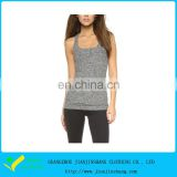 50% Cation 50% Polyester High Qualtiy Fitness Womens Bulk Tank Top