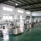 plastic bottle filling capping and labeling machine for shampoo
