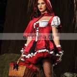 Sexy Little Red Riding Hood Costume Carnival Women Costume AGC107
