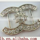 2013 new fashion high quality metal siblver,gold/brass...decorative fashion rhinestone buckle