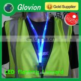 Glovion New design LED flashing colorful lanyards for girl