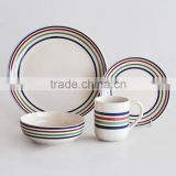 16pcs ceramic dinnerware set with handpainting