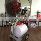 summer cooling water mist blower for Poultry use