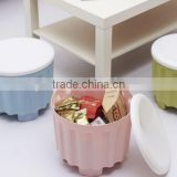 2016 New design fashion plastic storage stool