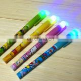 light pen with plastic led ball pen ROHS approved