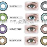 2014 Korea NEO Cosmo N223 violet soft color contact lens wholesale colored contacts Korea lenses 8colors