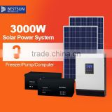 BESTSUN 3000w home wind solar hybrid power system for sale