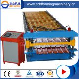 Double Layer Roof Tiles Roll Forming Corrugation Machine