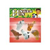 Ready Salable Bubber Wild animal finger Puttet HC77181