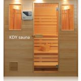 Hoe use Traditional solid wood wet steam sauna room
