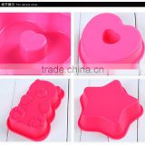 DIY cake mold silicone cute shape cookie mould