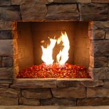 Outdoor Decorative Fire Glass Landscape Glass