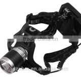 LL-663 1800LM 3 Mode LED Headlamp with 18650 Battery and Charger High Power Headlamp