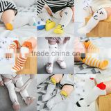 B40944A Good quality toddlers knee high stockings babies stockings