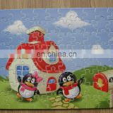 factory direct sale sublimation blank jigsaw puzzle