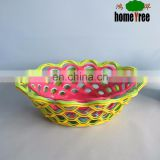 various plastic basket,new plastic food basket,storage plastic laundry storage
