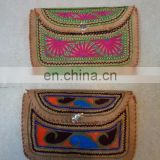 hand EMBROIDERY LEATHER PURESE 50 PCS