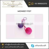 Best Knot Keychain Monkey Fist Nautical Rope Keychain Available at Considerable Price