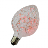 G95 rose fairy lights E27 G95-Strawberry copper wire led star collection bulb