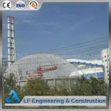China manufacturer Steel Structure Prefabricate dome storage building