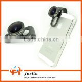 185 Degree Super Fisheye Lens With Clip Clamp For iPhone Samsung Cell Phone Camera Lens