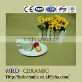 2014 New Advertising promotion ceramic coffee cup and saucer