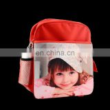 Sublimation heat transfer blank children schoolbag