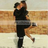 Love story Handmade christmas Oil Painting reproduction