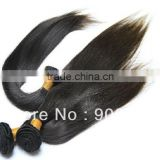 5A grade high quality unprocessed silk straight hair with wholesale price 100% virgin brazilian hair extension
