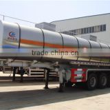 hot sale 38000 liters 30 ton insulated stainless steel cooking oil tank trailer