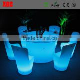 Big round lighting colored new banquet tables wedding table for sale
