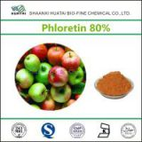 pure natural apple skin extract pharmaceutical grade 80% powder phloretin