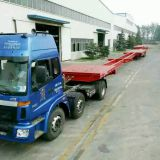 Extendable trailer, Windmill blade trailer, Stretchable trailer