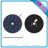 Mini Round Solar Panel PET Lamination OEM ODM Service