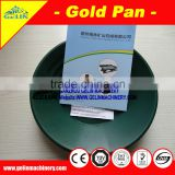Alluvial hand pans for gold panning