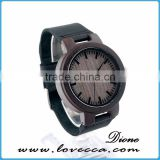 2017 wooden watch logo wood bamboo watch directly from China factory