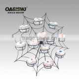 hot selling metal spider shape cupcake display stand