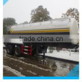 cheap 2 axle 35cbm Q235 carbon steel fuel tank semi trailer