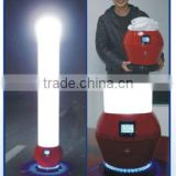 Portable and removeable emergency LED rechargeable lighting tower