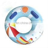 Hot sale life PVC inflatable ring for kids