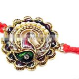 Ratna handicrafts Exclusive Fancy Tiranga peacock Rakhi - Indian RH-Rakhi-312