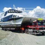 ChinaTrailers manufacture Modular Trailers fully compatible with original Nicolas MDED for Chile
