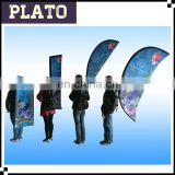Digit Printing Rectangular backpack Banner, Teardrop Banner Backpack flag, sail backpack flag for advertising