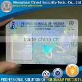 Custom id card overlay hologram id card hologram stickers fl hologram overlay                                                                         Quality Choice