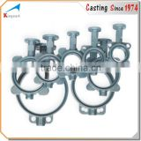 Foundry manufacture cast iron valve parts casting