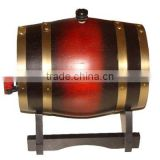 handmade customized wooden whiskey barrels for sale