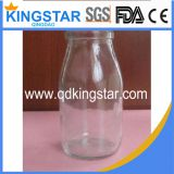 glass milk bottle container