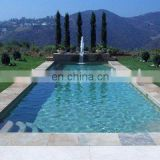 golden limestone swimming pool coping stones